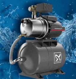 Установки повышения давления на базе насосов серии JP