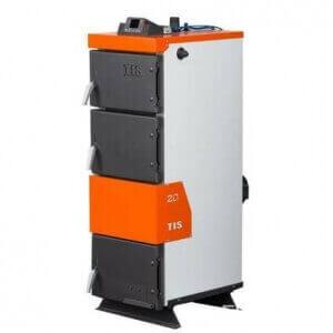Твердотопливный котел TIS PRO 15 (регулятор тяги в комплекте)