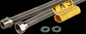 Шланг газовый (труба гофрированная) 1\2 (15мм) 0.8