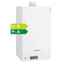 Газовый конденсационный двухконтурный котел Viessmann Vitodens 100-W 35кВт B1KC (закрытая камера сгорания)
