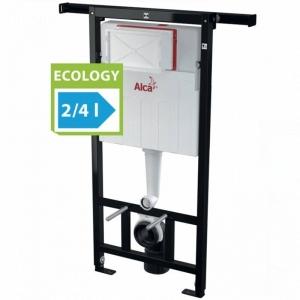 Скрытая система инсталляции ECOLOGY для сухой установки (для гипсокартона) AlcaPLAST