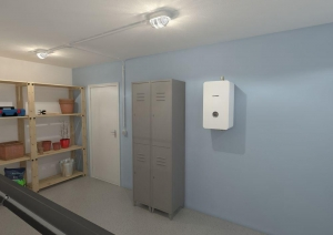 Электрокотёл Bosch Tronic Heat 3500 9кВт